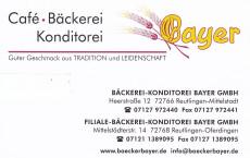 Café-Bäckerei-Konditorei Bayer