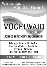 Schlosserei Vogelwaid
