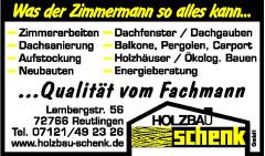 Holzbau Schenk